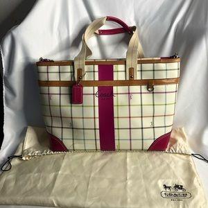 Coach Large Convertible Strap Bag